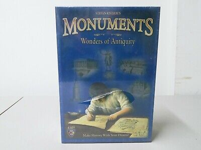 Monuments Wonders Of Antiquity Board Game New Factory Sealed