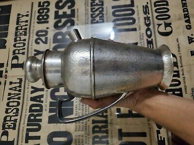 Apollo Bernard Rice's Sons Hammered Silver Plate Cocktail Shaker no reserve !