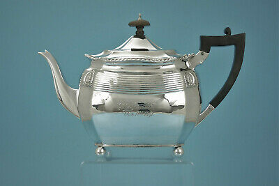 Teekanne - 925er Silber - London 1890 - 1,3 l / 576 g - #3535