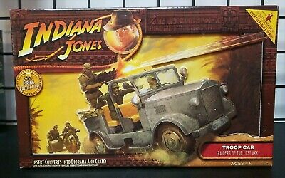 Indiana Jones Raiders Of The Lost Ark German Soldier Troop Car New Open Box