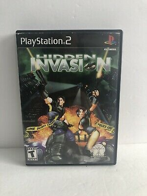Sony Playstation 2 (PS2): Hidden Invasion - Complete - Free Shipping