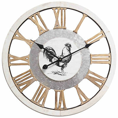 NEW 60cm Country Rooster Wall Clock - HighST.,Clocks