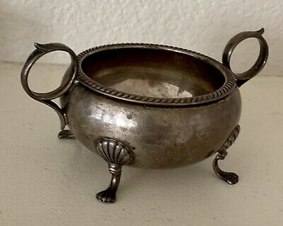 Rare Antique Fisher Sterling Silver Footed Bowl 786
