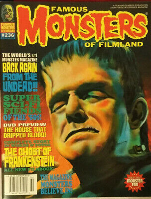 famous monsters of filmland magazine #236 Fine Condition