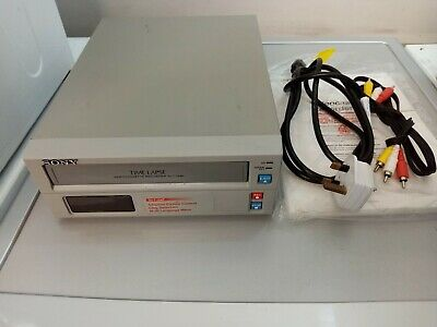 SONY SVT-124P TIME LAPSE video cassette recorder
