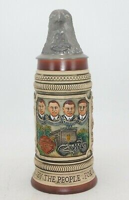 Harley Davidson 80th Anniversary Beer Stein 1983 with Lid