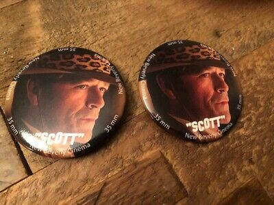 Once Upon A Time In Hollywood Buttons - Scott - Luke Perry