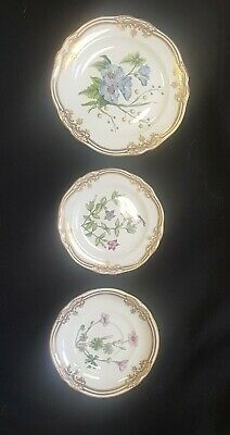 Spode Fine Bone China - Stafford Flowers - Salad, Bread, Saucer 3 piece lot