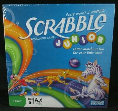 Parker Brothers ~ Scrabble Junior ~ Crossword Game ~ New Sealed ~
