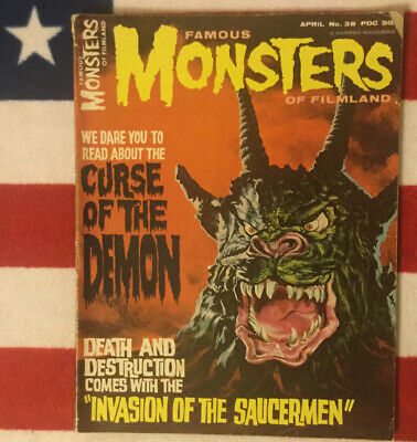 famous monsters of filmland #38 Good Plus