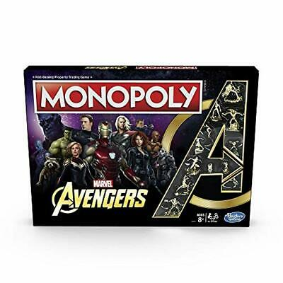 Monopoly: Marvel Avengers Edition Board Game for Ages 8 and Up Kid Gaming Gift