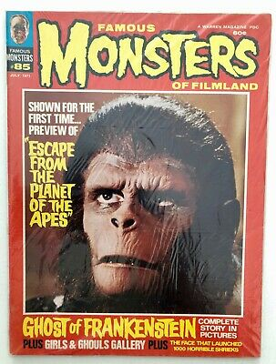 Famous Monsters of Filmland #85: Escape From Planet of the Apes