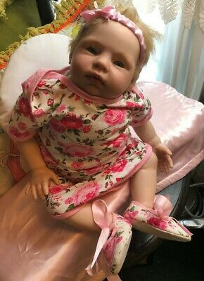 Reborn OOAK ADORABLE BOUNTIFUL BABY 2008 PRECIOUS Reborn Baby Girl