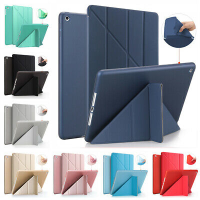 "Smart Case Leather Cover Soft Shell For Apple iPad 7th Generation 10.2"" 2019  ~"