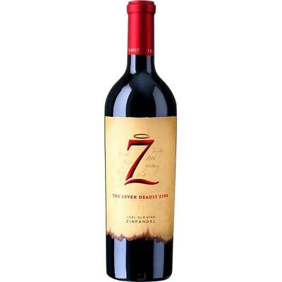 The Seven Deadly Zins Lodi Old Wine Zinfandel 2017 15% vol 75cl