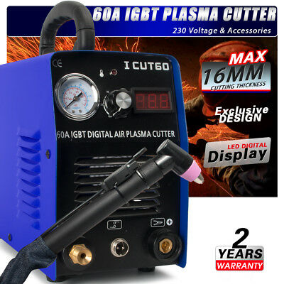ICUT60 Air Plasma Cutter Machine Inverter  Digital Display & Consumables & VAT