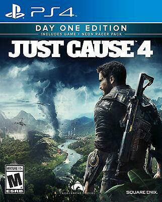 Just Cause 4 Day One Limited Edition PS4 NEW DISPATCHING TODAY BY 2 P.M.