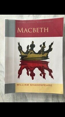 Oxford School Shakespeare: Macbeth by Shakespeare, William Paperback Book The