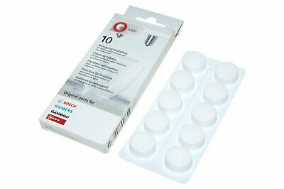 Bosch Cleaning Tablets for Coffee Machines, Pack of 10