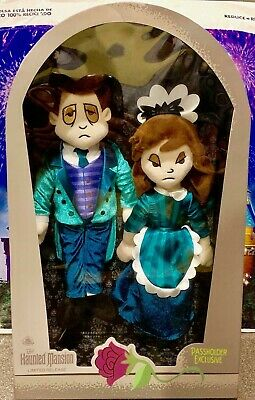 Disney Haunted Mansion 50th Anniversary Passholder Limited Plush Ghost Hosts