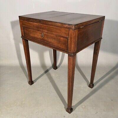 Antique mahogany side table by GILLOWS