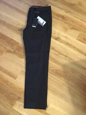 Mens Dwyerrs Winter  Golf Trousers Black, 4 Way Stretch, R36, new with tags