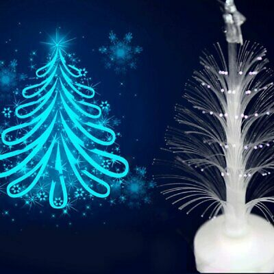 CHRISTMAS TREE COLOR Changing LED Light Lamp Home Decoration ...