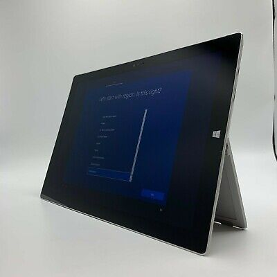 Microsoft Surface Pro 3 Tablet Core i5-4300U @ 1.90GHz 4GB RAM 128GB SSD AS-IS