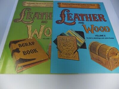 Vintage Leather and Wood Volumes I and II.