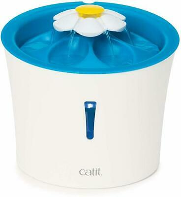 Catit Flower Drinking Fountain with LED Nightlight and Petal Top