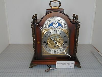 Dutch Warmink Westminster Mantel Clock