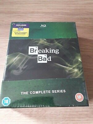 Breaking Bad: The Complete Series  [Blu Ray] BRAND NEW SEALED