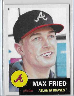 🔥Topps Living Set Card #251 - Max Fried - PRE SALE  🔥🔥🔥🔥