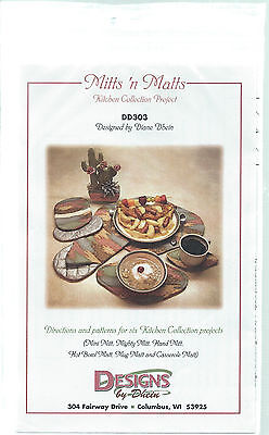 MITTS 'N MATTS ~ 6 Kitchen Collection Projects DD303 Hand Mitts Sewing Pattern