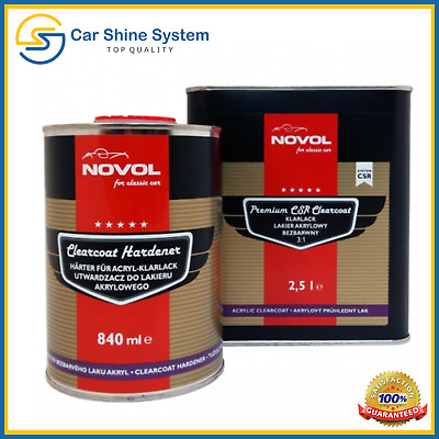 Novol for Classic Car Premium CSR Clearcoat  Lacquer Kit 3:1 Set