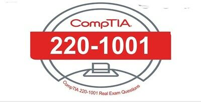CompTIA A+ Certification : Core 1 220-1001 question and answer