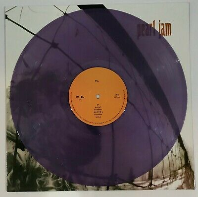 New Pearl Jam VS Purple Colored Vinyl LP Record Ten Yield Vitalogy No Code