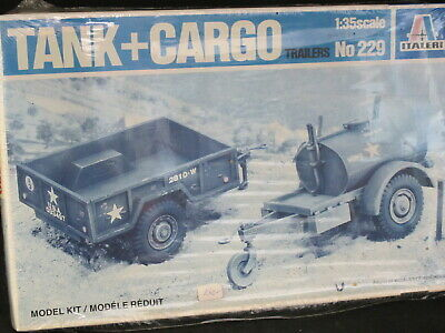 1/35 Italeri Tank and Cargo Trailer