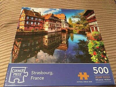 Strasbourg France 500 Piece Jigsaw Puzzle, Toys & Games, Brand New