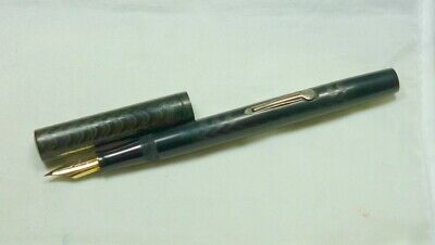 American Wateman's 54 Fountain Pen. BCHR. Watermans NY 4 nib, some flex. GWC.