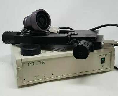 Prior Pro-scan Microscope Motorized Stage And Focus