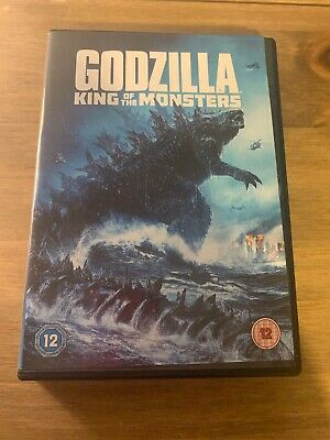 GODZILLA KING OF THE MONSTERS DVD. Used with free delivery.