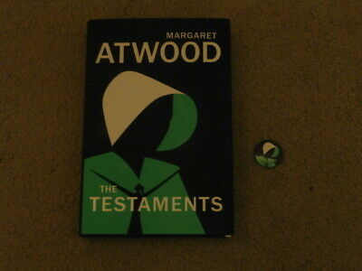 Margaret Atwood: The Testaments: Vf/Vf Uk First Edition Hardcover 1/1 With Badge
