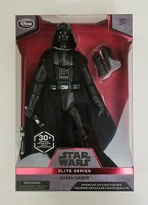 "Star Wars Elite Series Darth Vader 12"" Premium Action Figure Disney Store"