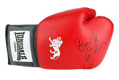 Signed George Groves - Boxing Glove British Icon +COA