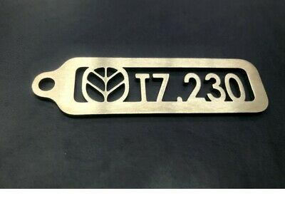 New Holland T7.230 Stainless Steel Keyring