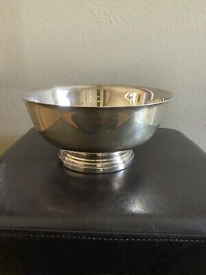 Vintage Gorham Large Serving Bowl Original Silver plate YC781 9 Inch Orig Box