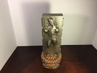 Star Wars: Han Solo in Carbonite Vinyl Bank 13 Inches Tall Diamond Select Toys