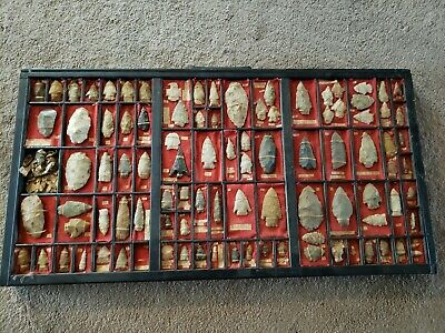 Large Museum Quality Native American Arrowhead, Spear Collection (96)