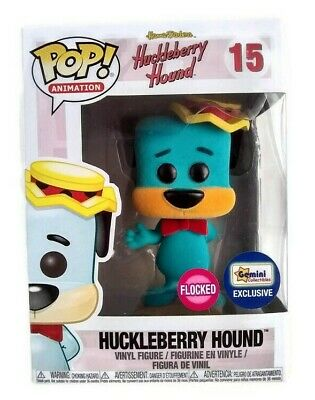 Funko Pop Huckleberry Hound 15 Hanna Barbera Animation Flocked Gemini Exclusive
